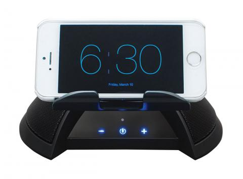Alarm Dock Kit-- Smart Phone Docking Station and Wireless Bed Shaker