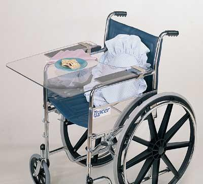 Invisible Wheelchair  Lap Tray (Model 606303)