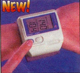 Wristwatch Style Blood Pressure Monitor