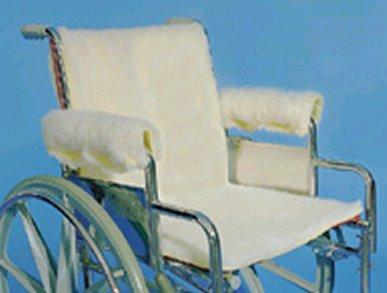 Sheepette Wheelchair Armrest And Seat Pads (Models D3004 & D3005)