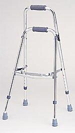 Adjustable Aluminum Side (Hemi) Folding Walker (Model 4060)