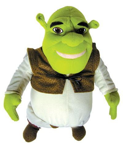 Talking Shrek From The Movie Shrek 2 (Model 421)