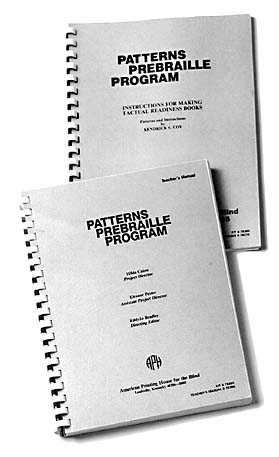 Patterns Prebraille Program (Model 6-78360-00)