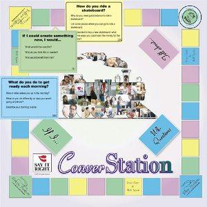 Converstation Board Game