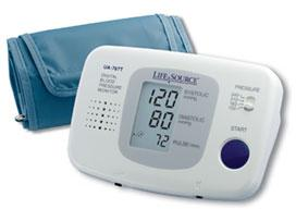 Lifesource Talking Auto-Inflation Blood Pressure Monitor (Model Ua-767T)