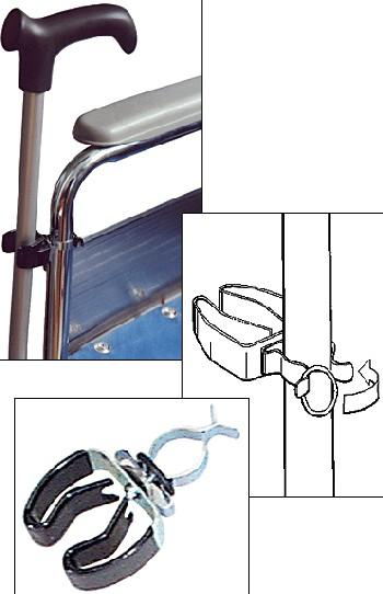Wheelchair Cane Clip (Model 16C102)