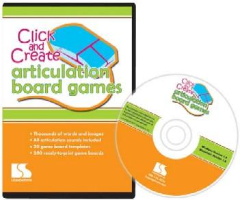 Click And Create Articulation Board Games Software (Model N59-9)
