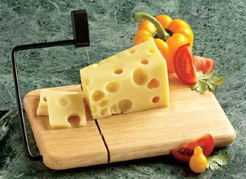 Thick Beechwood Cheese Slicer (Model 805B)