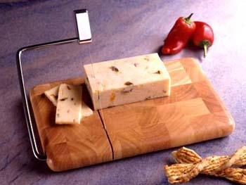 Butcher Block End Grain Beechwood Cheese Slicer (Model Bb-120)