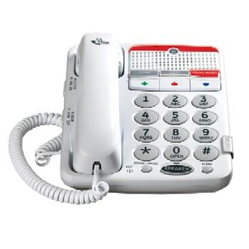 Ge Amplified Corded Phone For Mild Hearing Loss With Large Buttons (Model 29568Ge1)