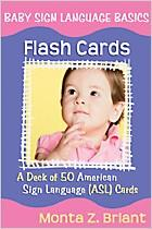Baby Sign Language Basics Flash Cards