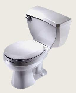 Ada Compliant Ultra Flush Two Piece Pressure-Assist Toilet (Models 21-317, 21-318, & 21-319)