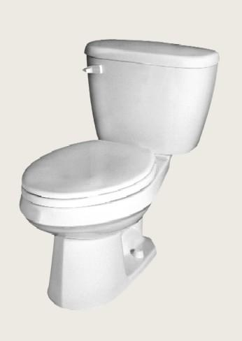 Maxwell Extended Height Ada Compliant Gravity Fed Toilet (Model 21-418)