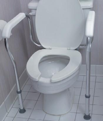 Adjustable Toilet Safety Rail (Model 521-1804-9601)