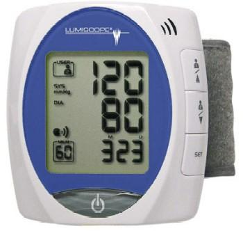 Lumiscope Talking Wrist Automatic Inflation Blood Pressure Monitor (Model 1145)