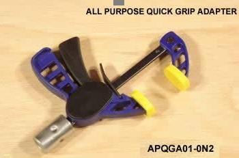 All Purpose Quick Grip Adapter (Model Apqga01-0N2)