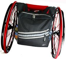 Stash And Flash Wheelchair Backpack