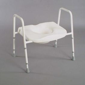 Bariatric Raised Toilet Seat And Frame (Models 166, 166F, 166Hd &166Fhd)