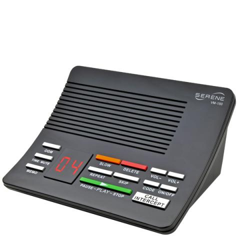 Amplified Answering Machine With Slow Playback (Model Vm150)