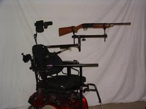 Limited Mobility Gun Mount (Model Lm 100)