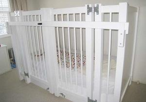 Reinforced Bed With Enclosure