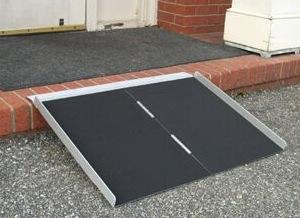 Literamp Portable 1-Piece Wheelchair  Ramp