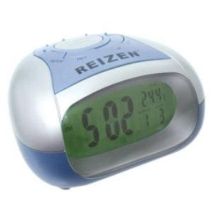 Reizen Talking Alarm Clock With Time And Temperature