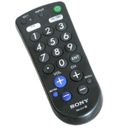 Sony Tv & Cable Remote Control (Model Rm-Ez4)
