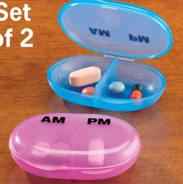 Am / Pm Pocket Pill Organizer