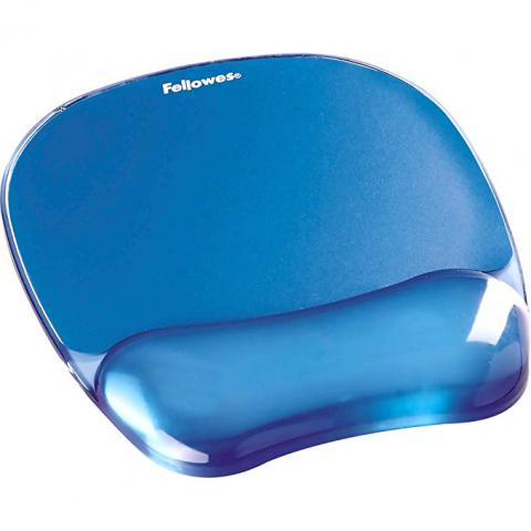 Fellowes Gel Crystal Mousepad Wristrest