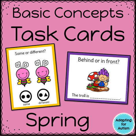 Spring Task Cards: Basic Concepts