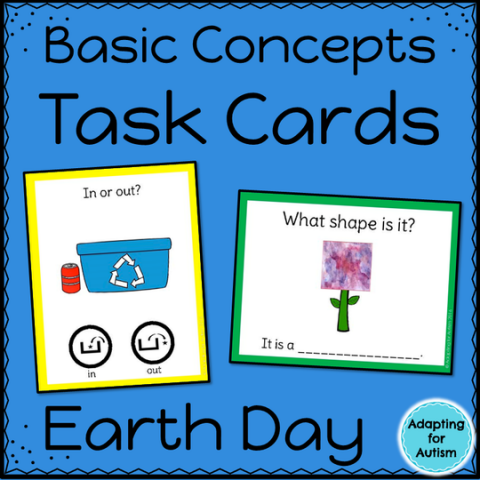 Earth Day Task Cards: Basic Concepts