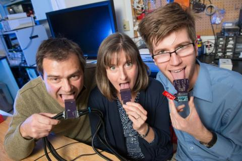 Words in the mouth: CSU device lets you hear with your tongue