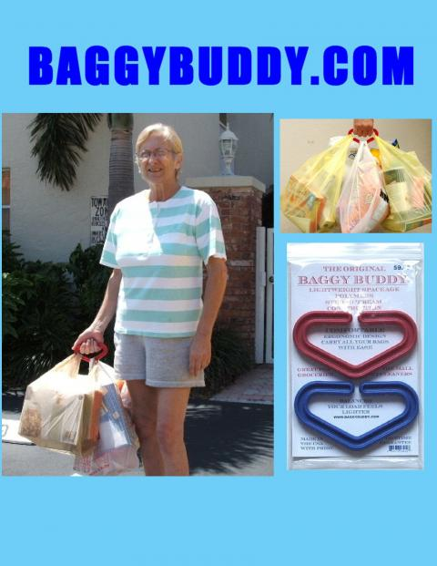 Baggy Buddy Shopping Bags Handle