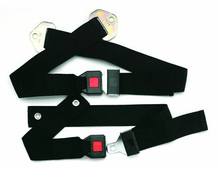 Automobile Type Buckle Safety Belt for Wheelchairs