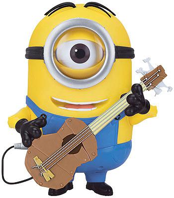 Animated Minion Stuart with Guitar!- Switch Adapted