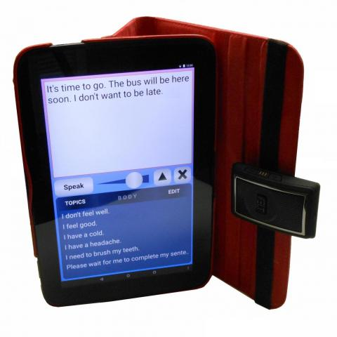 PolyAndro-10 with Persona text-to-speech tablet