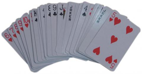 Braille Playing Cards, Regular