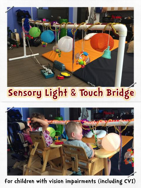 Sensory Light & Touch Bridge